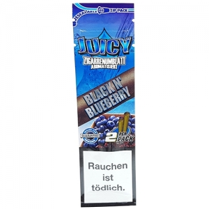 Juicy Blunts Black N' Blueberry