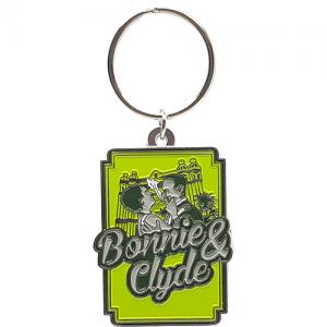 Schlüsselanhänger Bonnie & Clyde Logo