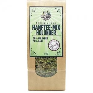 Hanftee-Mix Holunder