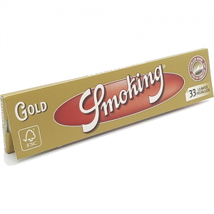 Smoking Gold King Size