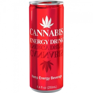 Cannabis Energy Drink Rasperry 250ml