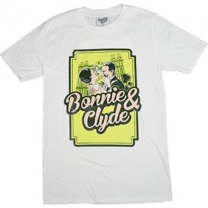 Bonnie & Clyde T-Shirt Logo (White)