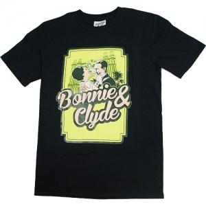 Bonnie & Clyde T-Shirt Logo (Black)