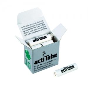 actiTube Aktivkohlefilter Slim 10er