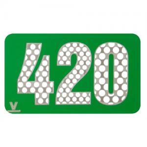 V-Syndicate Grinder Card - Metall-Grinderkarte, 420