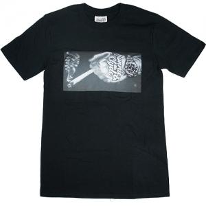 Bonnie & Clyde T-Shirt Hand (Black)